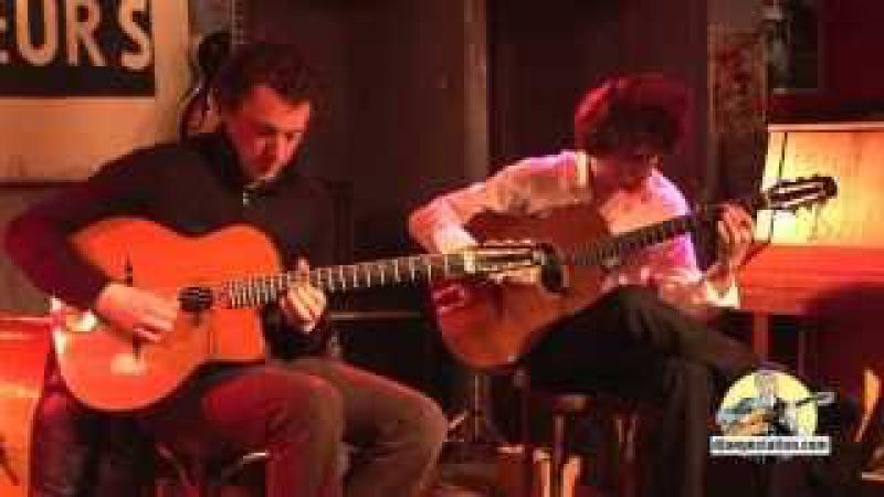 Soirée Djangostation avec Adrien Moignard, Antoine Boyer - Court-métrage (composition d'Antoine)