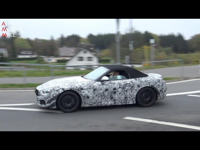 2019 BMW Z4 SPIED TESTING AT THE NÜRBURGRING