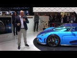 4k Chistian von Koenigsegg Press Conference Geneva 2018 with Regera x 2 and CCX