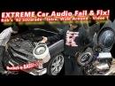 Extreme Car Audio FAIL Fix - Bucket o' BASS Chevy Silverado - Intro, Walk Around video 1