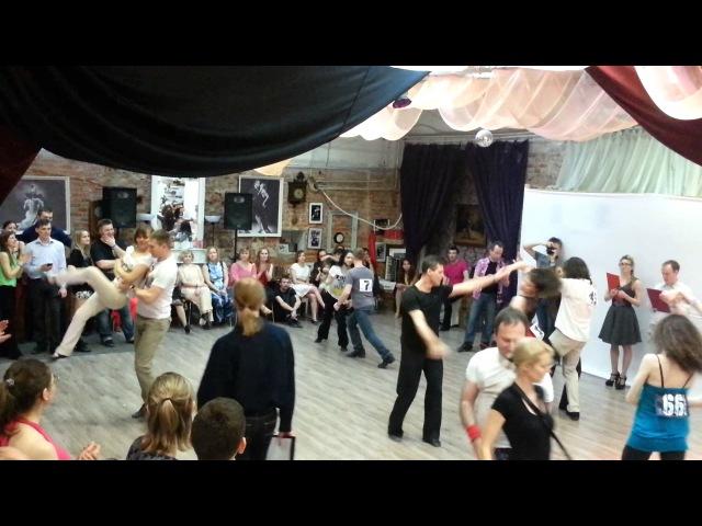 4 конкурс по импро-хастлу Танец на одной волне-6