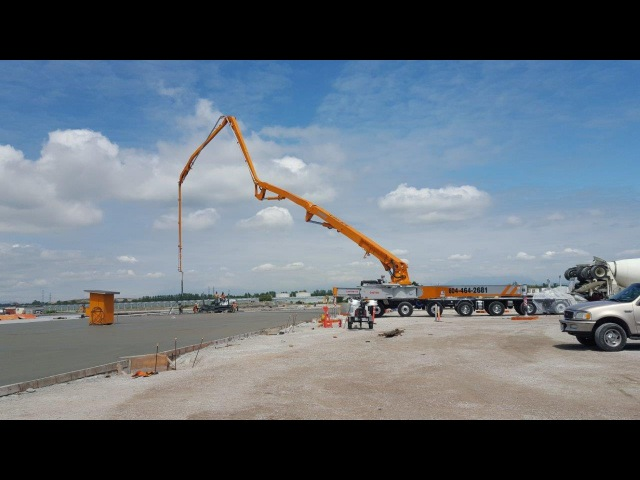 CONCORDs 62-Meter Concrete Pump