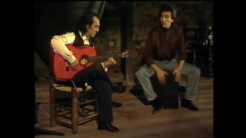 Pepe Habichuela (guitarra) y Antonio Carmona (cajón) - Bulerías