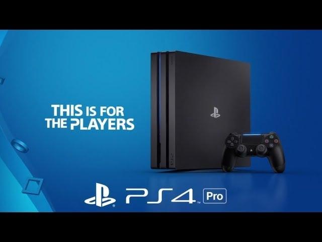 Самая КРУТАЯ приставка Sony PlayStation 4 Pro! PS4 Pro 1TB - YouTube