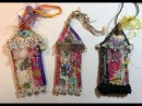 Boho Fabric Gypsy Cottages/The Gypsy The Witch/Mixed Media