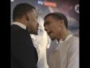 Jacobs vs. Arias. Face to face.