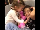 Я всегда хотела сестру, хорошо что моим девочкам, никогда  не будет скучно ??