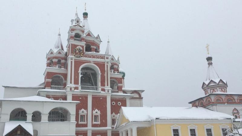 звоны Саввино Сторожевский монастырь
