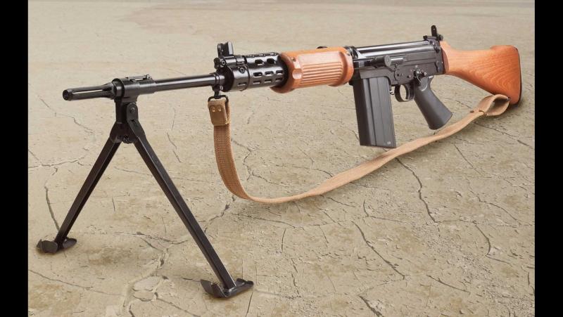 Штурмовая винтовка FN FAL _ Огнестрельное оружие