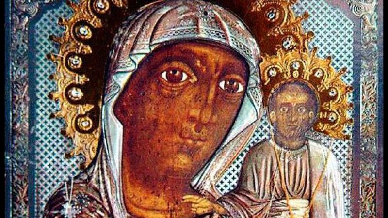Покров к Тебе прибегающих Казанская Чимеевская икона Божией Матери