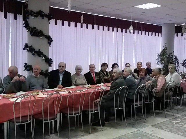 Встреча с членами организации