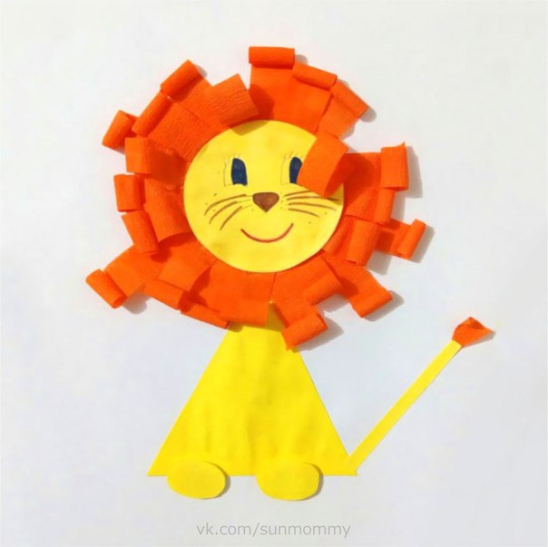 Картинки как сделать льва