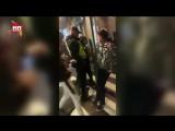 Драка ученика и охранника в рижской школе