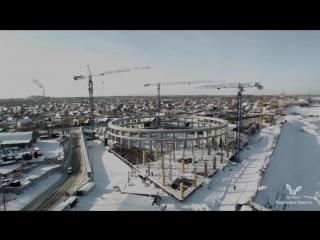 Зимний Новосибирск Аэросъемка Winter Novosibirsk Air Survey 1080 X 1920