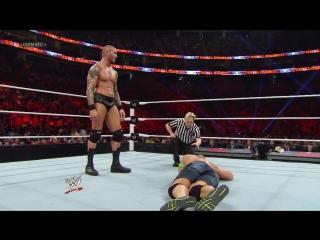 Randy Orton vs. John Cena - WWE World Heavyweight Title Match- Royal Rumble 2014