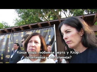 Мэрил Дэвис и Тони Графиа о 3 сезоне Чужестранки