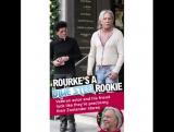 Mickey Rourke and Giuseppe Franco.- Zoolander 3