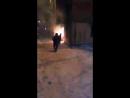 Пожар на Донбасской. Осторожно, ненормативная лексика