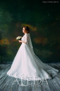 Наша 👰💍#невестаАледа #aleda_bride Татьяна Булатова в платье  👗 Анри😍 #gabbiano