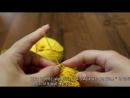 Узор спицами «Платочная вязка с протяжками» - Gulls and Garter knitting pattern