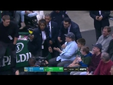 Milwaukee fan yells at Klay Thompson, gets tossed immediately
