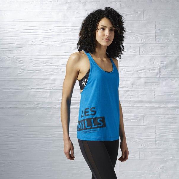 Спортивная майка LES MILLS™ Dry Dye