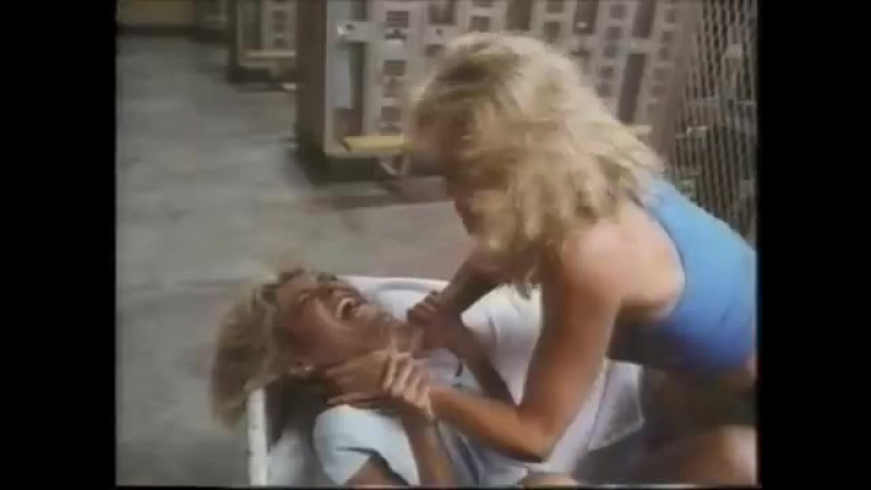VENDETTA (1986) Awesome, bloody, prison style Catfight 2 blondes kicking ass Must See