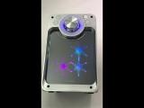 Колонка портативная KTS-822ch USB/microSD/Bluetooth/FM/Караоке серебро - 2500р.