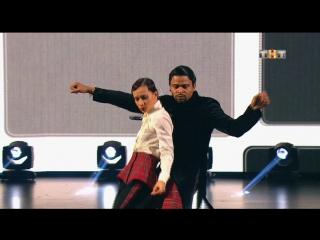 Танцы - Юля Гаффарова и Мигель