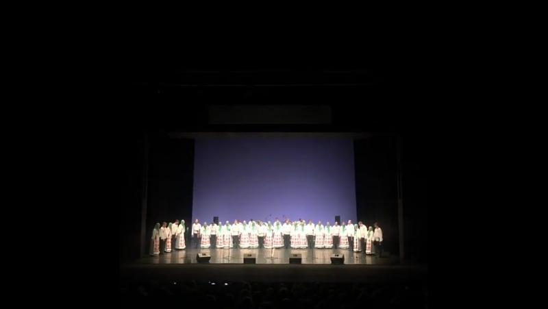 Вторник. Вечер. Марибор. Выступление Хора М. Пятницкого в театре оперы и балета.
