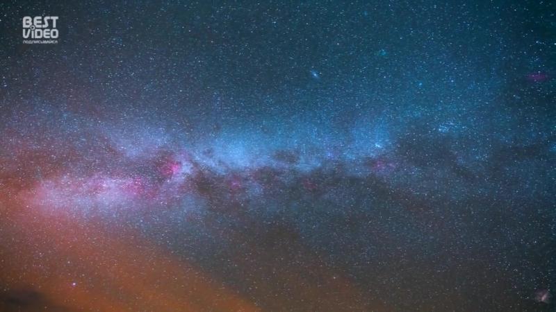 Умопомрачительно красивые таймлапс видео ночного неба смотреть онлайн без регистрации