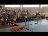 Выступление 91-летней гимнастки (6 sec)
