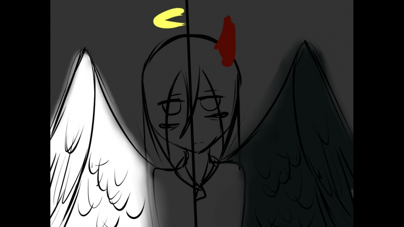 Ангел или демон-meme