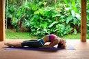 Асаны йоги для хорошего настроения