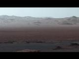 Видео с панорамой из кратера Гейл, снятой марсоходом Curiosity