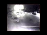 Видео нападения с коктейлями Молотова на редакцию «Ленты»