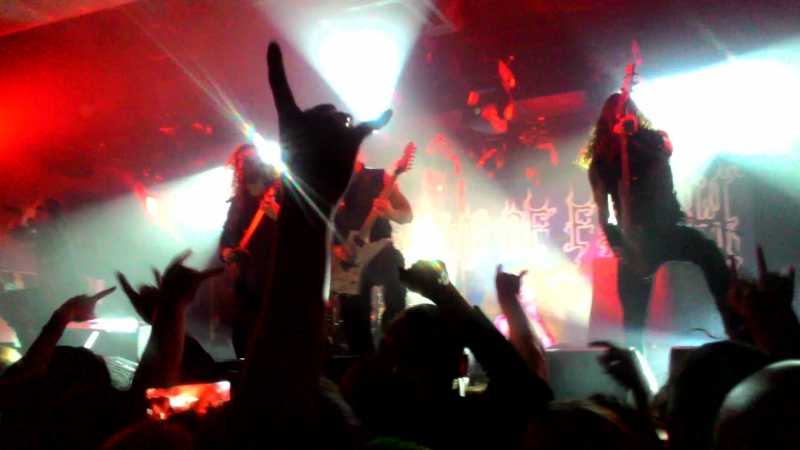Cradle of filth - Her ghost in the fog (СПБ 8.03.2018)