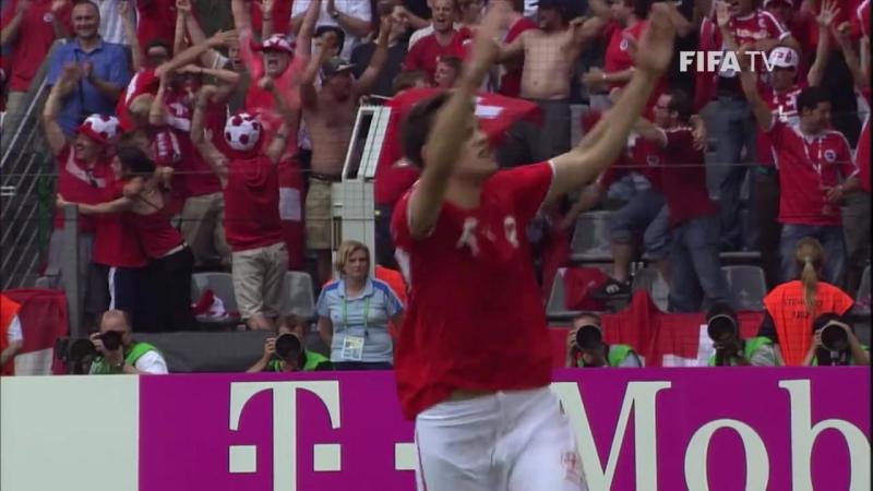 ЧМ-2006: гол Транкильо Барнетты в ворота Того