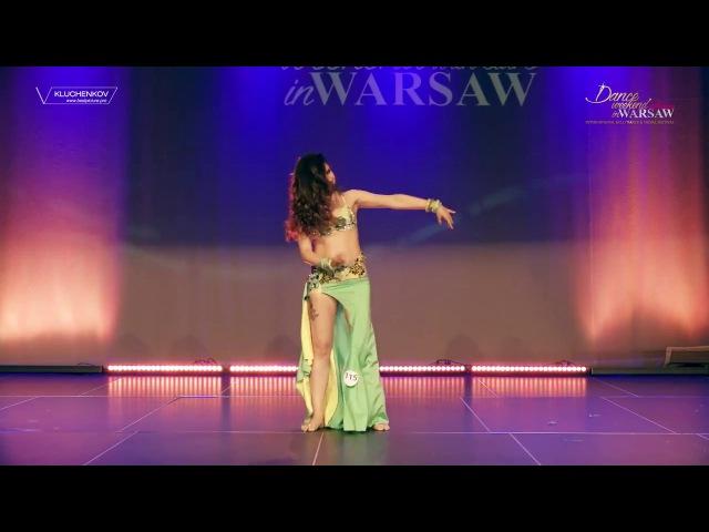 Loboda Anastasia . Tabla solo. Dance weekend in Warsaw.Poland