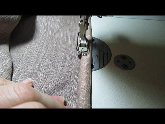 Как правильно сшить шторы портьеры на шторной тесьме Простой мастер класс how to sew curtains