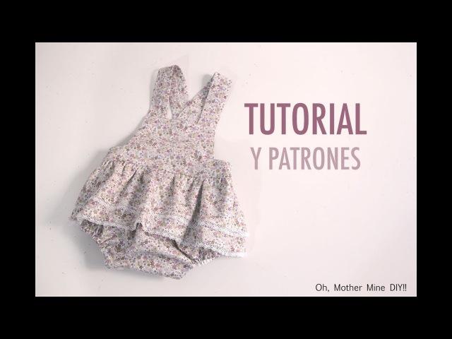 DIY Costura: Cómo hacer ranita de flores para niñas (patrones gratis)