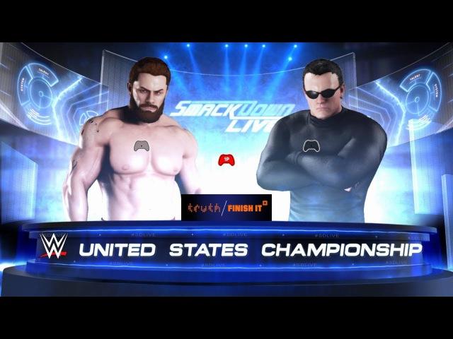 SBW SmackDown - Charlie York vs McKlayne [Strong Brawl match][Title vs Career]