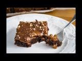 Брауни с карамелью  Brownies with Caramel  Tanya Shpilko