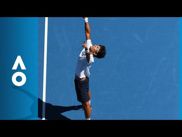 Tennys Sandgren v Hyeon Chung match highlights (QF) | Australian Open 2018