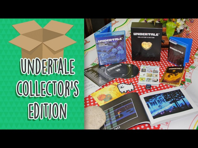 Unboxing Undertale Collector's Edition Artbook (by Fangamer)
