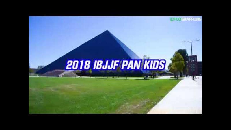 Official 2018 IBJJF Pan Kids Highlight