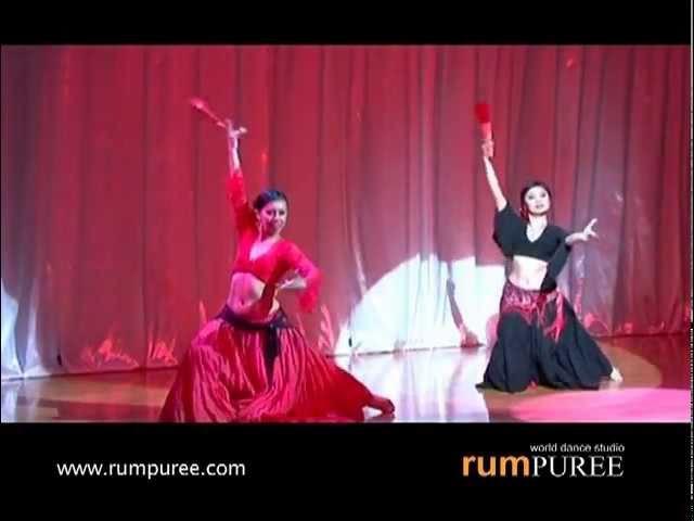 Flamenco Bellydance Fusion @ DWOD 2010 by rumPUREE (Bangkok, Thailand)