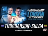 FIGHTSTAR CHAMPIONSHIP 12 Thorgrimur Thordarson vs. Dalius Sulga