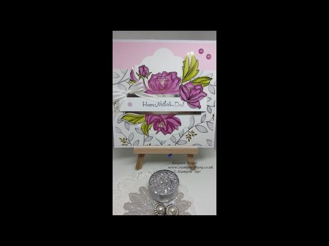 Springtime foils Mother's day card Stampin' Up!