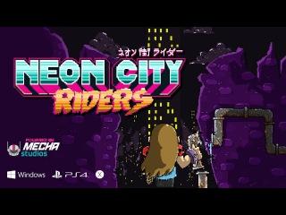Neon City Riders - Reveal Trailer (ENGLISH VERSION)